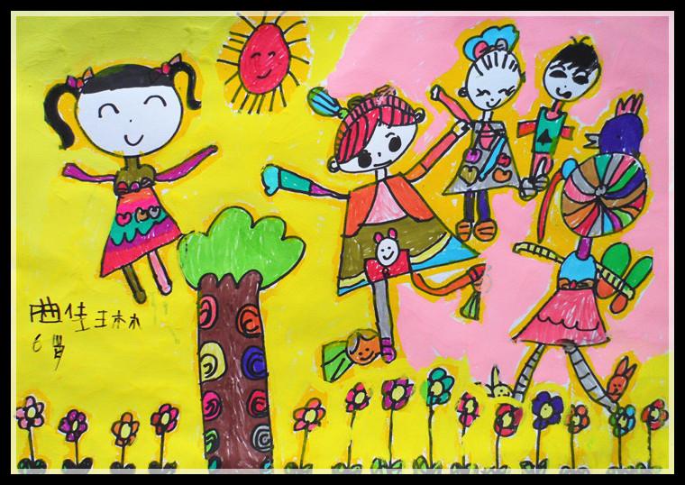 烟台开发区华东艺术少儿美术,儿童画,卡通动漫,素描色彩培训 (1)