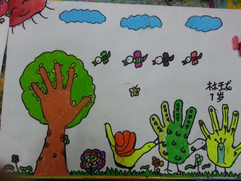 华东艺术创意思维儿童画
