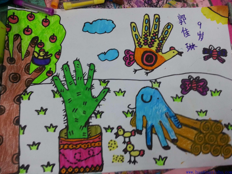 儿童美术创意画图片大全_儿童美术创意画图片
